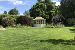 Contemporary Back Garden in Surrey